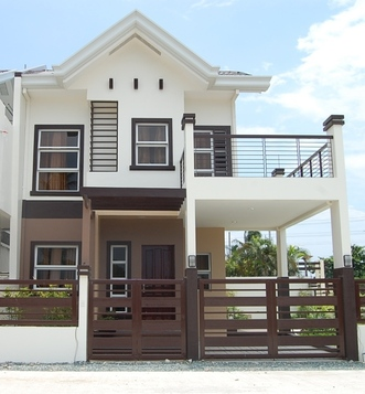 Real estate properties in philippines house and lot for for Simple window designs for homes